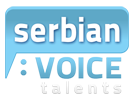 Serbian Voice Overs, professional voice talents in Serbia, male, female, artists, actors, TV commercial, Video narration, Serbia Belgrade