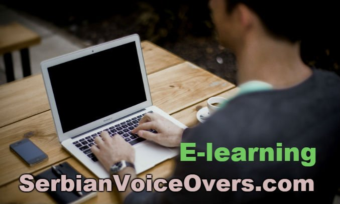 Serbian e learning voice over artist for training courses, gemification game-based learning, step by step instructions, technical information, safety videos, online tutorials