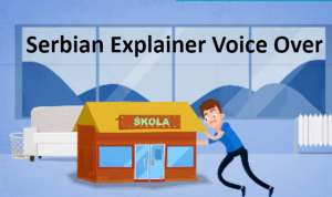 Serbian voiceover for explainer video