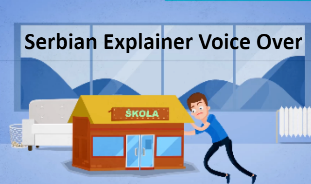 Serbian voiceover for explainer video